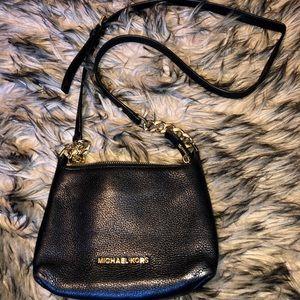 Micheal Kors Black Crossbody Bag